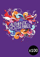 ERV Youth Bible Purple - Pack of 100