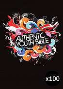 ERV Youth Bible Black - Pack of 100