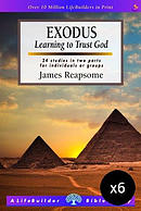 Lifebuilder Bible Study: Exodus - Pack of 6