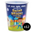 Shine Bright Little Light Single Tumbler - Bundle of 12