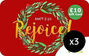 Rejoice £10 Gift Cards 3 Pack