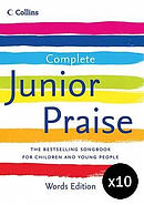 Complete Junior Praise: Words Edition pack of 10