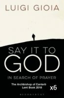 Say it to God - Pack of 6