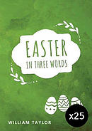 Easter in Three Words - Pack of 25