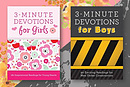 3 Minute Devotions For Girls & Boys Bundle