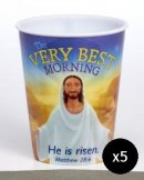 The Very Best Morning Tumbler - Pack of 5