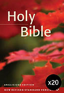 NRSV Popular Text Anglicised Bible: Hardback Pack of 20