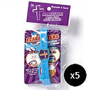 Fearbusters Silicone Bracelet - Pack of 5