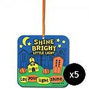 Shine Bright Little Light Foam Activity Kit Pack of 5