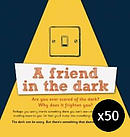 A Friend in the Dark Pack of 50