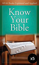 Know Your Bible - Pack of 5