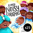 A Very Noisy Christmas - pack of 25