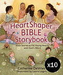 HeartShaper Bible Storybook - Pack of 10