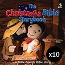 The Christmas Bible Story Book - Pack of 10