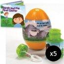 Jumbo Bubbles Gospel Easter Egg - Pack of 5