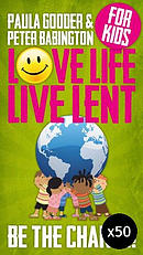 Love Life Live Lent Kids - Pack of 50