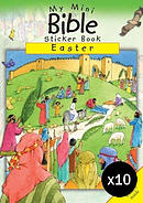 My Mini Bible Sticker Book: Easter - Pack of 10