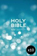 NIV Popular Hardback Bible- pack of 10