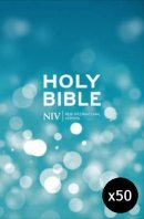 NIV Popular Hardback Bible- pack of 50