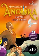 The Ancora Easter Bible Comic - Pack of 10