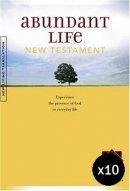 NLT Abundant Life New Testament - Pack of 10