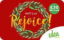 £30 Rejoice Gift Card