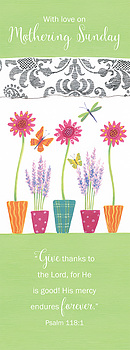 With Love on Mothering Sunday - Single Card