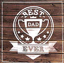 Best Dad Ever - Single Card