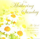 On Mothering Sunday - Single Card