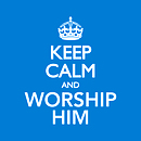 Keep Calm and Worship Him CD