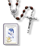 Confirmation Wooden Rosary