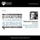 Malachi: Signature Teaching Series a talk by Malcolm Duncan