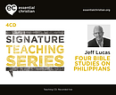 Philippians: Signature Teaching Series a talk by Jeff Lucas