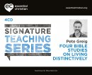 Living Distinctively: Signature Teaching Series a talk by Pete Greig