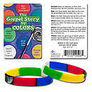 Gospel Story Silicone Bracelet and Card