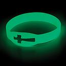 Glow in the Dark Silicone Bracelet