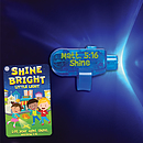 Shine Bright Little Light LED Finger Light and Pocket Card