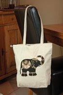 Elephant Print Shoulder Bag