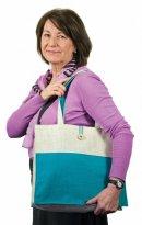 Jacky Jute Bag (Blue)
