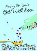 4 Get Well Prayers Cards