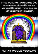 What would you say? 50-pack of Tracts