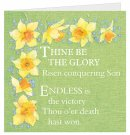 Thine Be The Glory Easter Cards - Pack of 4