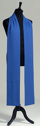 Polyester Readers Scarf - Blue