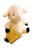 Really Woolly Plush Lamb with Blessing Book