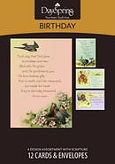 Boxed Card Birthday Victorian