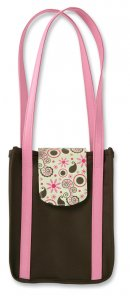 True Images Bible Bag: Chocolate & Bubble Gum, Microfiber