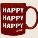 MUG HAPPY RED