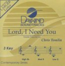 Lord I Need You- backing track