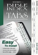 BIBLE TABS SILVER/SLIM LINE