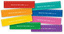 Pack of 8 Scripture Rulers